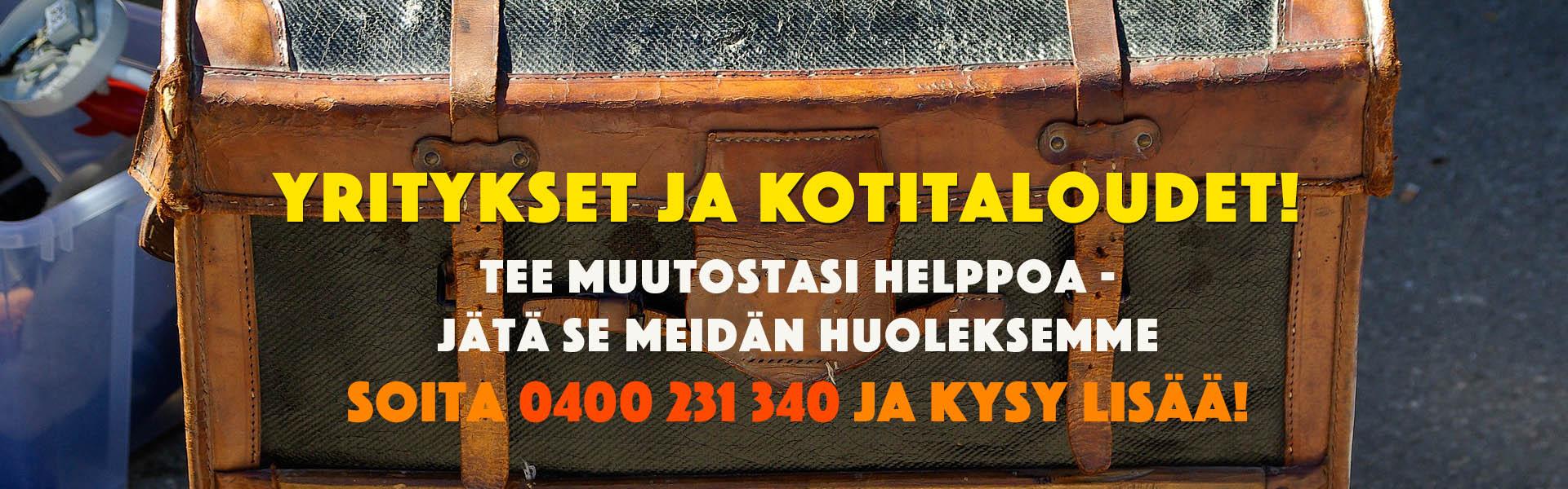 Pianokuljetukset, muutot ja yritysmuutot Tampereella