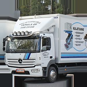 Vaativat kuljetukset Tampereella ja Pirkanmaalla